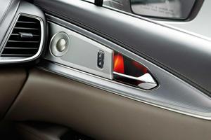 2017 Lincoln MKX Black Label 4dr SUV Interior Detail. Muse Theme Shown.