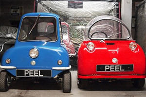 World's Smallest Car Peel P50 Back in Production
