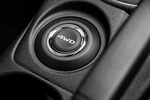 2017 Mitsubishi Outlander Sport 2.4 SE 4dr SUV Four Wheel Drive Selector