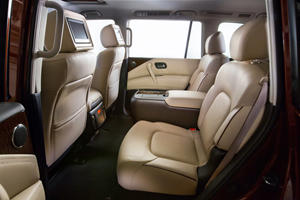 2017 Nissan Armada Platinum 4dr SUV Rear Interior Shown