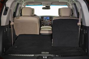 2017 Nissan Armada Platinum 4dr SUV Interior