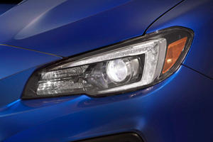 2018 Subaru WRX STI Limited Sedan Headlamp Detail