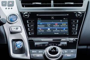 2017 Toyota Prius v Five Wagon Center Console