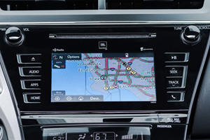 2017 Toyota Prius v Five Wagon Navigation System