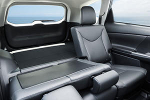 2017 Toyota Prius v Five Wagon Interior Shown