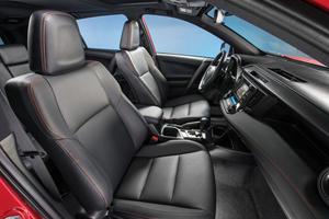 2017 Toyota RAV4 SE 4dr SUV Interior