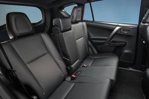 2017 Toyota RAV4 SE 4dr SUV Rear Interior