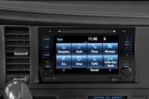 2017 Toyota Sienna SE 8-Passenger Passenger Minivan Center Console