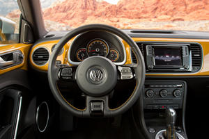 2017 Volkswagen Beetle 1.8T Dune 2dr Hatchback Steering Wheel Detail