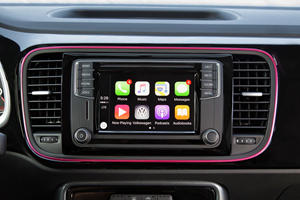2017 Volkswagen Beetle #PinkBeetle 2dr Hatchback Center Console