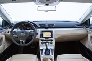 2017 Volkswagen CC 2.0T R-Line Executive Sedan Dashboard Shown