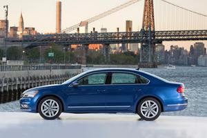 2017 Volkswagen Passat SEL Premium Sedan Exterior Shown