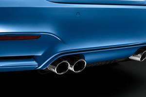 2015-2017 BMW  M3 Sedan Exhaust
