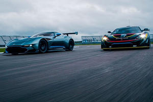 Race Of The Track Day Ultimates: Aston Martin Vulcan Vs McLaren P1 GTR