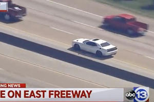Dodge Challenger Hellcat Thief Evades Texas Police With 707-HP Lead Foot