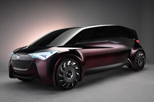 Toyota's Fine-Comfort Ride Concept Is A Hydrogen-Powered Funky Minibus