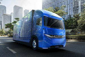 Daimler Beats Tesla To The Electric Semi With The E-FUSO Vision One