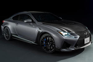 Lexus Celebrates F Division's 10th Birthday With Two Special Models