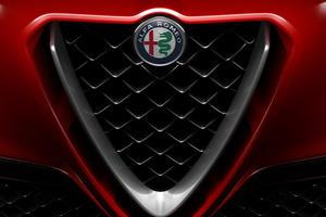 2018 Alfa Romeo Stelvio 4dr SUV Quadrifoglio Front Grill Shown