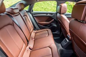 2018 Audi A3 Sedan Rear Seating