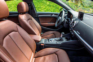 2018 Audi A3 Sedan Front Seating