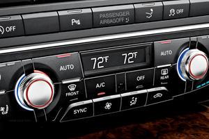 2016-2018 Audi  S7 Sportback Climate Control