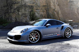 Gemballa GT Concept Is A Porsche 911 Turbo With Hypercar Performance