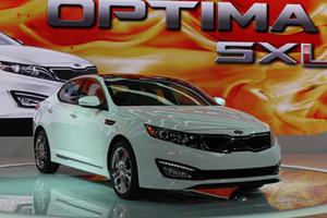 Kia Optima SX Limited Revealed at Chicago