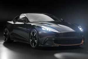 The Aston Martin Vanquish S Ultimate Is A 595-HP Goodbye Present