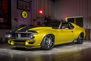 This 1,000 HP 1972 AMC Javelin AMX Is Powered By A Modified Hellcat V8