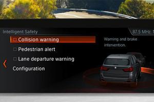2017-2019 BMW 3 Series Gran Turismo Intelligent Safety System