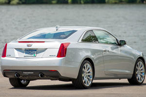 2017 Cadillac ATS Coupe Luxury Coupe Exterior Shown