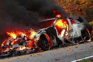 Nissan GT-R Nismo Burns To A Crisp In North Carolina