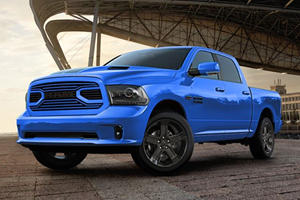 Special Edition 2018 Ram 1500 Hydro Blue Sport Ends Year With A Bang