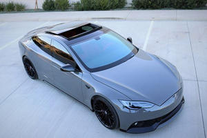 The Paint Job On This Modified Tesla Model S Costs $40,000