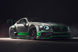 New Bentley Continental GT3 Racecar Ready To Tear Up The Track