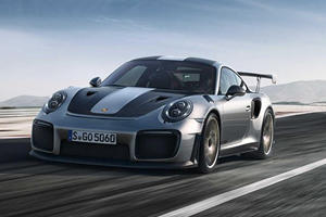 Watch The Porsche 911 GT2 RS Hit 212 MPH On The Autobahn