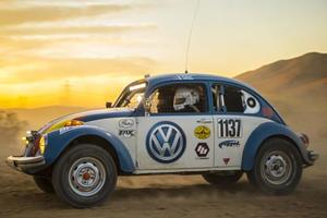 Volkswagen Sponsoring Old School Badass Beetle In The Baja 1000