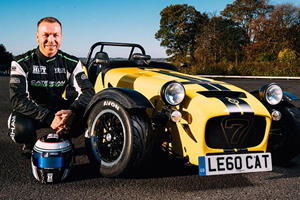 Watch A Caterham Seven 620R Do 19 Donuts In 60 Seconds