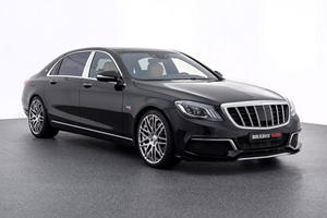 Brabus Turns The Mercedes Maybach S650 Into A 900-HP Monster