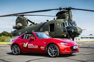 UK's RAF Uses Mazda MX-5 RF To Recruit Future Pilots