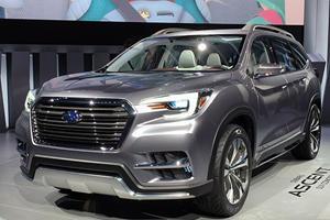 Subaru Will Finally Debut Ascent Three-Row Crossover In LA