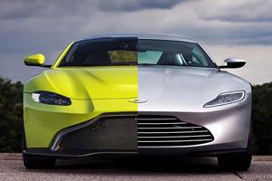 New Aston Martin Vantage Inspired James Bond's DB10