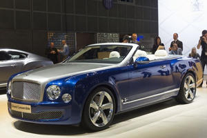 Bentley Mulsanne Grand Convertible Enters Production