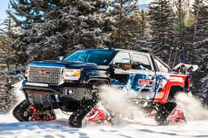 GMC Sierra All Mountain Concept Is A Wonderfully Ridiculous Snow Killer