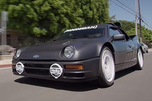 The Feisty Ford RS200 Evolution Is Ken Block's Dream Car