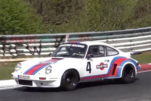 Here's Nothing But 20 Minutes Of Porsches Lapping The Nurburgring