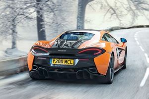 New Snow Tires Transforms McLaren 570S Into Winter Warrior