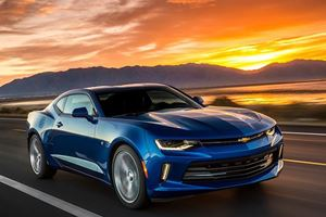 The Chevrolet Camaro Is Finally Going Global