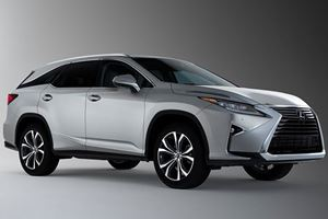 Lexus Hits LA With An Extended RX L That Has Room For Seven